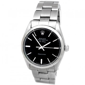 34mm Rolex Stainless Airking  5500.