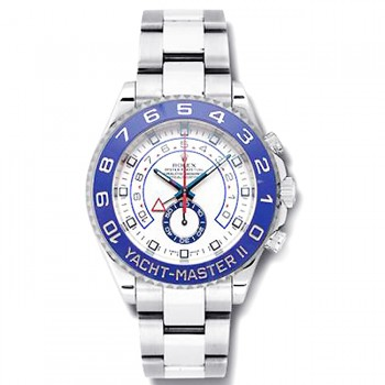 44mm Rolex Stainless Yachtmaster II 116680.