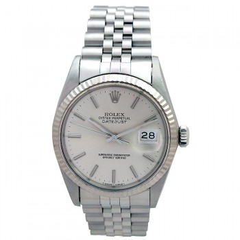 36mm Rolex Datejust White Gold Bezel 16014.