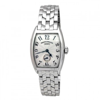 Small 18K White Gold Franck Muller Watch