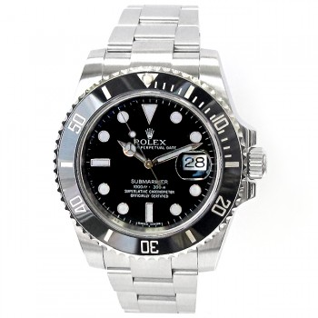 40mm Rolex Stainless Submariner Ceramic 116610