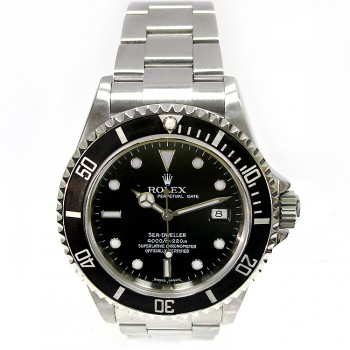 40mm Rolex Stainless Sea Dweller 16600T.