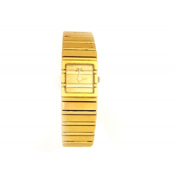 Lady's Yellow Gold Piaget Polo Watch.