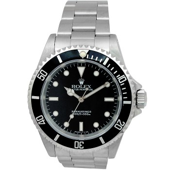 40mm Rolex Stainless Steel Oyster Perpetual Submariner No Date 14060.