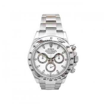 40mm Rolex Stainless Steel Oyster Perpetual Daytona Watch 116520