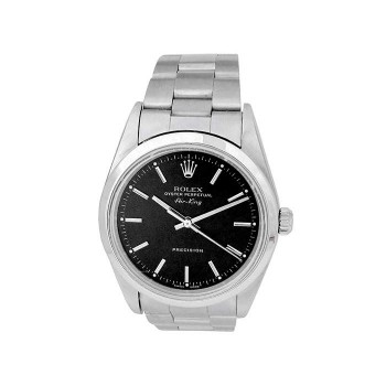 34mm Rolex Stainless Steel Oyster perpetual Airking Watch 14000