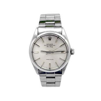 34mm Rolex Stainless Steel Oyster Perpetual Airking Watch 5500