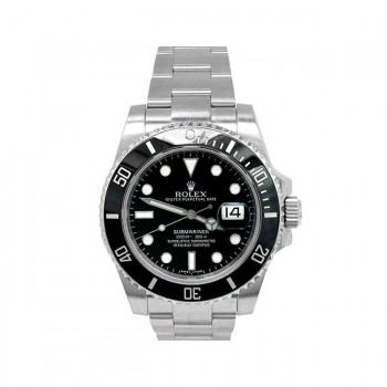 40mm Rolex Stainless Steel Oyster Perpetual Submariner Watch 116610