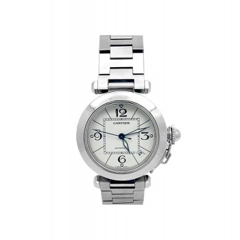 35mm Cartier Stainless Steel Pasha Watch W31074M7