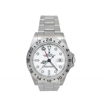 Rolex Stainless Steel Explorer II Watch 34604