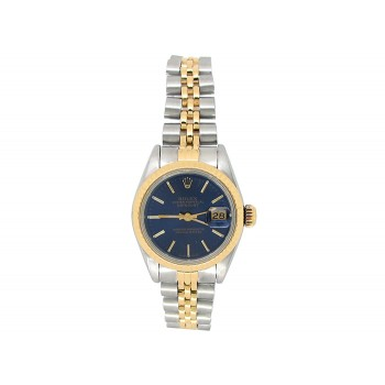 Rolex 18k Yellow Gold and Stainless Steel Datejust Watch 34644