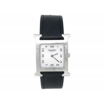 Hermes Stainless Steel Heure H Watch 34672