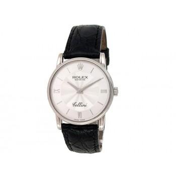 32mm Rolex 18k White Gold Cellini Watch