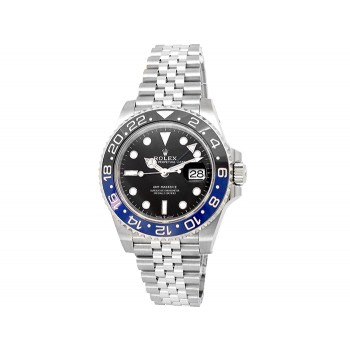 40mm Rolex Stainless Steel Oyster Perpetual GMT-Master II Watch