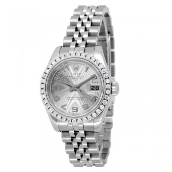 26mm Rolex Stainless Steel Oyster Perpetual Datejust Watch