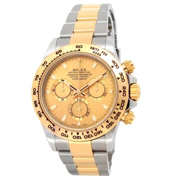 40mm Rolex 18k Yellow Gold and Stainless Steel Oyster Perpetual Daytona Watch *BRAND NEW*